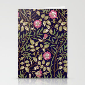william-morris-sweet-briar-floral-art-nouveau-cards
