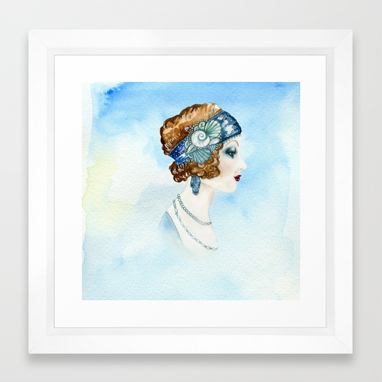 art-deco-portrait-framed-prints