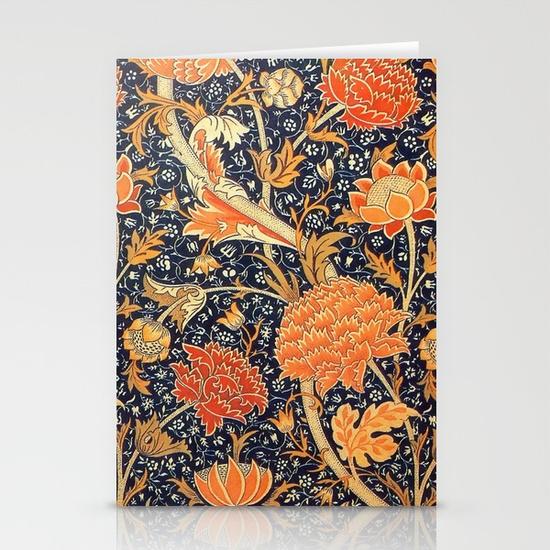 william-morris-cray-floral-art-nouveau-pattern-cards
