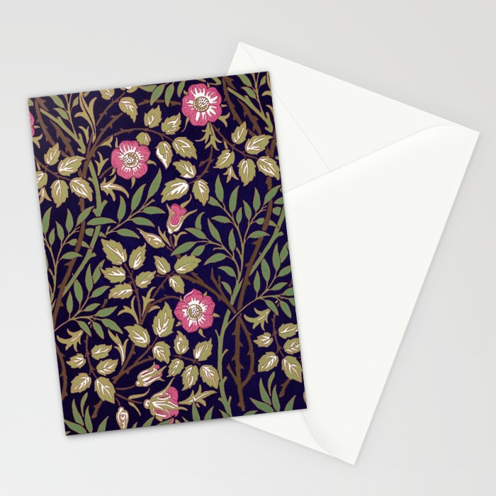 william-morris-sweet-briar-floral-art-nouveau-cards (1)